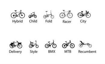 Bikes by type