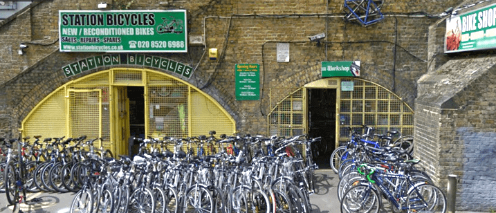 Station Cycles Shop